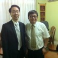 (English) MP Son Chhay meets  Mr. Daniel Chu at SRP HQ on May 23, 2011